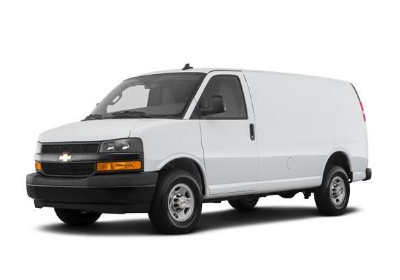 2 Passenger - Chevy Express Cargo Van
